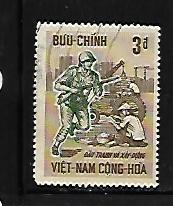 VIETNAM, 296, USED, SOLDIER & WORKERS