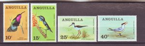 J22385 Jlstamps 1968 anguilla set mh #36-9 birds