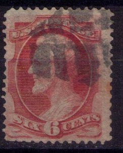 US Scott #148 Used Carmine Shade F-VF