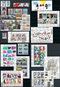 Netherlands Niederlande 2012 Year Set Complete incl. Miniature Sheets MNH