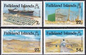 Falkland Islands #425-8  MNH CV $4.80 (Z8278)