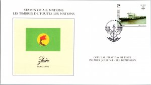 Zaire, Ships, Worldwide First Day Cover