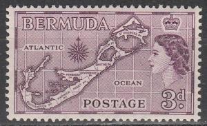 Bermuda #149 F-VF Unused  (S2332)