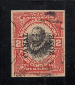 CZ#U2a Red & Black -  Cut Square - Dated Cancel