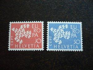 Europa 1961 - Switzerland - Set