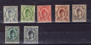 Zanzibar 1908-09 Definitive Partial Set