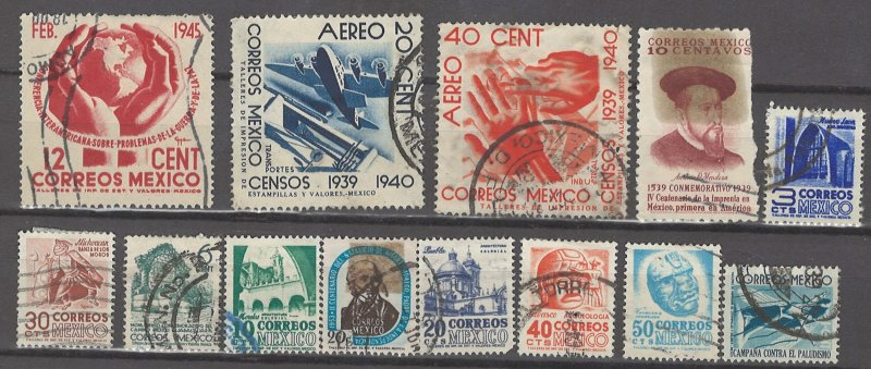 COLLECTION LOT # 14L MEXICO 62 STAMPS CLEARANCE