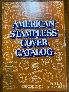 American Stampless Cover Catalog by Sampson & Skinner 1978,Stamp Philately Book