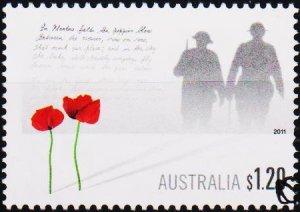 Australia. 2011 $1.20 Fine Used