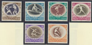 Poland Stamps Scott #750 To 756, Mint Never Hinged - Free U.S. Shipping, Free...