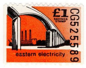 (I.B) Cinderella Collection : Eastern Electricity Savings £1