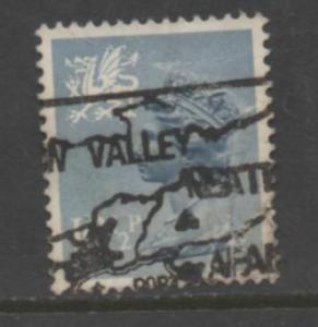 Wales & Monmouthshire   Scott# 14   used   single