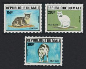 Mali Cats 3v SG#1085-1087