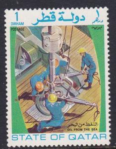 Qatar 311 Mint OG 1972 Oil from the Sea