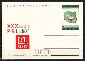 Poland, Ruch cat. CP604. ZHP-Scout Alert Postal Card. ^