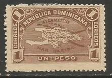 Dominican Republic 119 MNG MAP E871-4