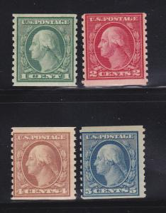 United States 490, 492, 495-496 MNH George Washington
