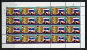 THAILAND SCOTT#1704 OLYMPIC GOLD MEDALWINNER  SHEET OF 20 MINT NH