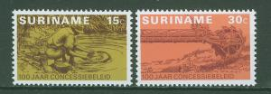 SURINAM/SURINAME 1975 MNH SC.419/20 Prospecting policy