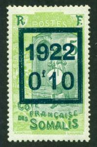 Somali Coast 1922 #119 MH SCV(2018)=$0.70