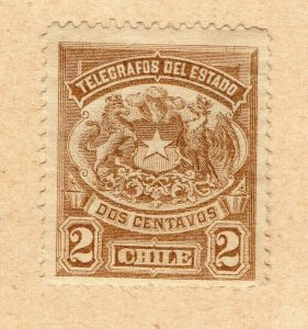 Chile 1904 Early Issue Fine Mint Hinged 2c. NW-09238