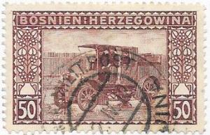 Bosnia & Herzegovina #42 50h dull violet (U)  CV $2.00