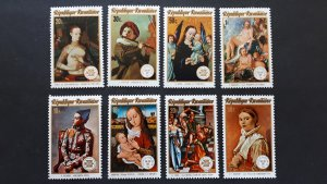 Art - paintings - Rwanda 1974. - Complete set ** MNH