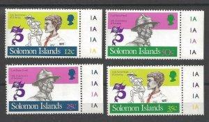 1982 Solomon Islands Scouts 75th anniversary BP