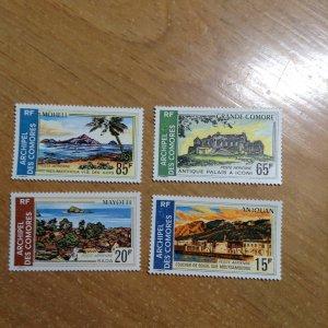 Comoro Islands  # C32-35  MNH