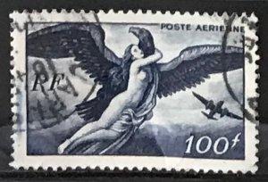 France #C20 Used CV$3.25 Zeus carrying Hebe/Bird