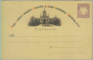 89228 - GERMANY Bayern - Postal History -  Picture STATIONERY  CARD # P18 1882