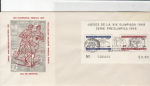 mexico 1966 atm stamps cover ref 19286