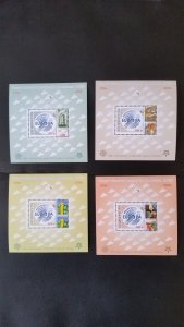 50th anniversary of EUROPA stamps - Azerbaijan - complete 4xBl perf. ** MNH