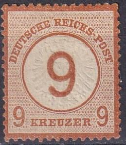 Germany #28  F-VF Used  CV $82.50 (A19086)