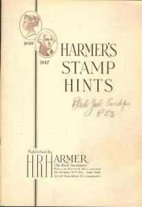 Harmer's Stamp Hints,