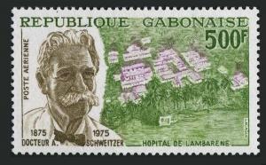 Gabon C159,MNH.Michel 549. Dr. Albert Schweitzer,medical missionary,composer