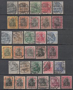 Germany - 1900/1922 Germania complete collection (7227)