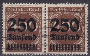 Germany #258 F-VF Used Pair CV $38.00 (A19513)