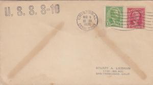 1936, USS S-10, Cristobal, Canal Zone (N4757)