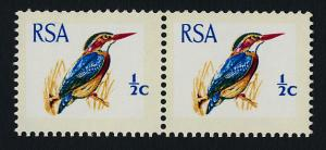 South Africa 351a pair MNH Natal Pigmy Kingfisher