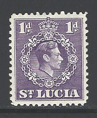St. Lucia Sc # 111 mint hinged (RS)