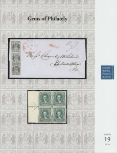 Germs of Philately. Rare stamps and covers. 2016 Schuyler Rumsey Auction catalog