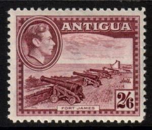 Antigua Scott 92 - SG106a, 1938 George VI 2/6d MH*