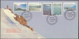 Australian Antarctic Territory, Worldwide First Day Cover, Polar