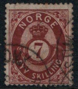 Norway #21  CV $65.00