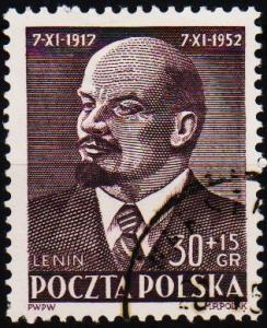 Poland. 1952 30g+15g S.G.788 Fine Used