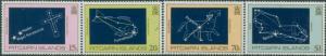 Pitcairn Islands 1984 SG259-262 Night Sky set MNH