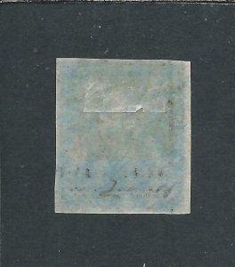 TRINIDAD 1851 (1d) PURPLE-BROWN FU SG 2 CAT £80