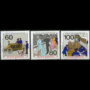 GERMANY 1990 - Scott# B694-6 Post & Telecom. Set of 3 NH