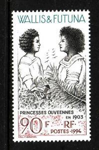 Wallis & Futuna-Sc#458-unused NH set-Princesses Ouveennes-1994-